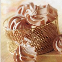 Chocolate Meringue Swirls More