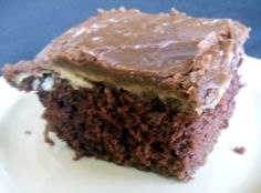 Peanut Butter Meltaway Cake Recipe (I want to make into a 15x10 sheet cake, cut into squares, freeze and eat frozen...soooo good)
