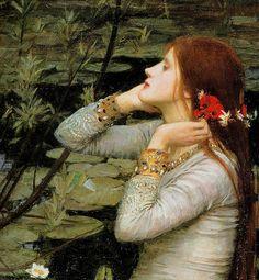 """Ophelia"" (detail) 1894 John William Waterhouse | Flickr - Photo Sharing!"