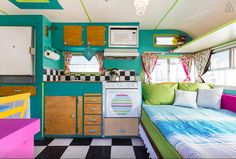 This Food Truck Turned Tiny Home Is The Peppiest Transformation You'll Ever See