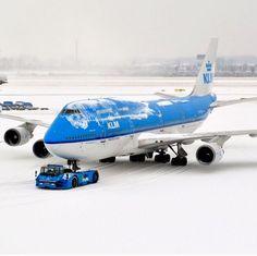 L'aviateur KLM Boeing 747