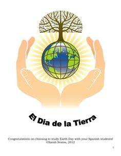 Earth Day activities for Spanish classes