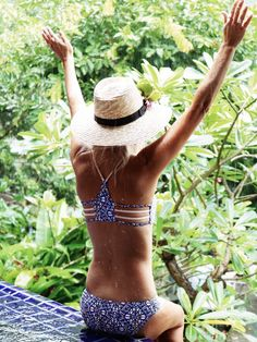 Beach Boho :: Bikini :: Swimsuits :: Bohemian Summer :: Free your Wild :: See more Untamed Beach Style Inspiration @untamedorganica