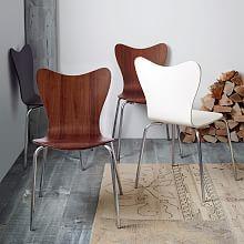 Classic Café Dining Chair - Walnut | west elm