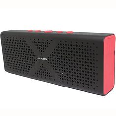 2016 NewUltraPortable Aluminum Bluetooth Speaker AidetekBoxBluetooth 40 Wireless speaker with 15 Hours Music StreamingHandsFree Calling Builtin Mic 10W Output Power with Enhanced Bass * Want additional info? Click on the image.