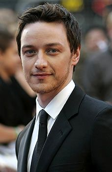 The Daily Mail says James McAvoy is on target for a heroic role.  Definitely _my_ hero.
