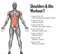 Shoulders and abs