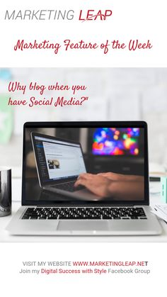 Why do you still need to blog when you have Social Media? Blogging boosts search engine optimisation exceptionally & allows you to develop and strengthen relationships with existing and new customers. So while a good business website may be geared toward helping current and potential customers, a business blog will create opportunity for two-way interaction with your audience. Read more here:   Want to be to be inspired to Restart, Recharge and Revive your Business? Connect with me… Business Website, Search Engine Optimization, Opportunity, Connect, Blogging, Relationships, Success, Social Media, Marketing