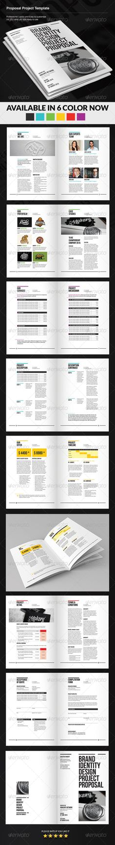 clean proposal template Velti One Sheets Pinterest Icons