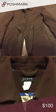 Jcrew long coat 2petite . Amazing for work or everyday wear . jcrew Jackets & Coats Trench Coats