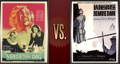 Matchup of the Day: Day of Wrath vs. The Passion of Joan of Arc - http://www.flickchart.com/blog/matchup-of-the-day-day-of-wrath-vs-the-passion-of-joan-of-arc/