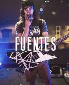 Vic Fuentes- Pierce the veil.... Just make that face forever. Like, forever.