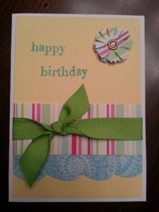 DIY - Card making tips