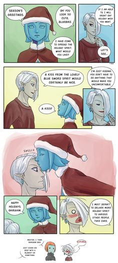 Holiday Cheer by Z-Raid.deviantart.com on @DeviantArt