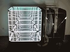 Lucas Samaras 1966 Mirrored Room is Still Awesome Today Mirror Room, Mirror Lamp, Mirrors, Infinity Spiegel, Infinite Mirror, Two Way Mirror, Lamp Inspiration, 1 Gif, Mirror Effect