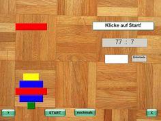 Geteiltrechnen, Schnellrechnen, Spiel Dyscalculia, Dyslexia, Numeracy, Game