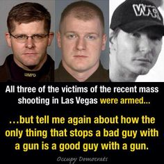 Yeah...very sad.  And for what it's worth this Vegas community has come together and offered an overwhelming amount of love and support to the families of these men that lost their lives.  It was a senseless act of violence!