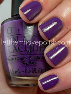 OPI Holland Collection ~ Dutch'ya Just Love OPI