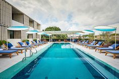 Get a great view of downtown Austin, Texas at South Congress Hotel's #rooftoppool.