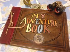 album de fotos my adventure book - My Life & My Adventures Diy Birthday, Birthday Gifts, Up The Movie, My Adventure Book, Ideas Para Fiestas, Book Layout, Ms Gs, Leather Craft, Gifts For Friends