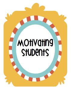 Tips for motivating students plus FREE printable.