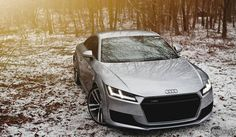 2015 Audi TT Is The Perfect Snow Angel