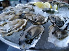 Apalachicola Oysters. A little bit of horseradish, cocktail sauce, and a saltine cracker... can't do any better.