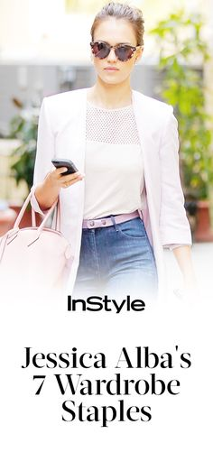 7 Fashion Staples That Are Always in Jessica Alba's Closet from InStyle.com