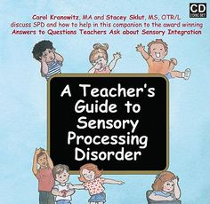 A Teacher's Guide to Sensory Processing Disorder by Carol Stock ...