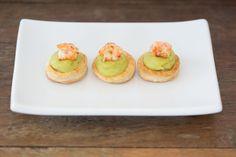 Vol-au-vent com maionese de abacate e camarão [ Buffet | Finger food ]