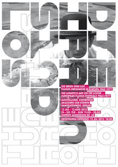 graphic design, poster, round font
