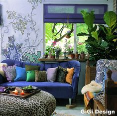 """would be perfect for the back upstairs bedroom ... we already have Jodie's art she painted as a teenager on the wall ... could just expand on that ... love the idea of a """"blue"""" room ... hmmm"""