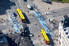 Fotografias aéreas de Alex MacLean: como o planejamento urbano influencia a pegada de carbono, Copenhague, Dinamarca. Imagem © Alex MacLean