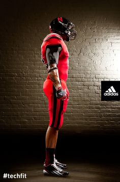 28afbe339 Nebraska Gets Futuristic New adidas Uniforms