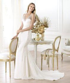 Pronovias te presenta el vestido de novia Laherie. Fashion 2014.   Pronovias