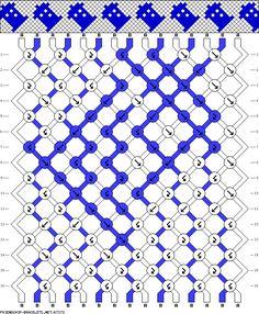 Darling Make Alphabet Friendship Bracelets Ideas. Wonderful Make Alphabet Friendship Bracelets Ideas. String Bracelet Patterns, Embroidery Bracelets, Friendship Bracelets Designs, Bracelet Designs, Bracelet Crafts, Jewelry Crafts, Schmuck Design, Bracelet Tutorial, Loom Beading