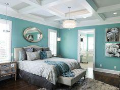 light blue bedroom |