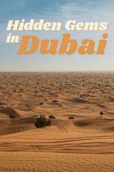 17 Hidden Gems in Dubai - Valentina's Destinations Dubai Travel, Asia Travel, Eastern Travel, Middle East Destinations, Travel Destinations, Travel With Kids, Family Travel, Travel Guides, Travel Advice