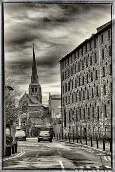 Bride Street Church from Paul Quay by Dermot Campbell Wexford Town, Wexford Ireland, Daughters, Gem, Most Beautiful, Highlights, Louvre, Bride, Street