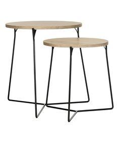 Gray Renee Retro Nesting Tables