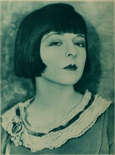 "Colleen Moore, silent film actress.  Popularization of the pageboy is usually credited to Louise Brooks, but Coleen Moore was the original ""pageboy girl""."