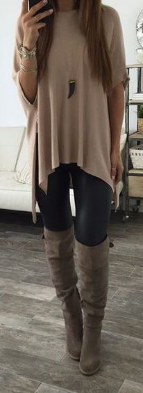 I like the different arms on this top with leggings. any color is fine I also like that the top is not tight
