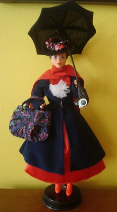 Mary Poppins Barbie doll - I have this! (Thanks Hankins family who I nannied for)