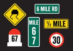 Road Sign Vectors -   Collection of road signs and mile stones. Hope you can use these in your project.  - https://www.welovesolo.com/road-sign-vectors/?utm_source=PN&utm_medium=weloveso80%40gmail.com&utm_campaign=SNAP%2Bfrom%2BWeLoveSoLo