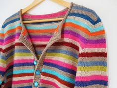 Kynance Cove test knit