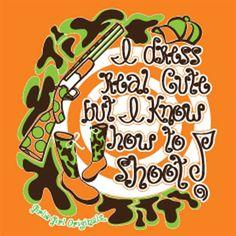 Southern Belle Quotes   Girlie Girl Originals - Shoot - Color Safety Orange T-Shirts - Gray ...