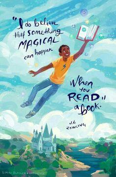 My bff loves J.K Rowling