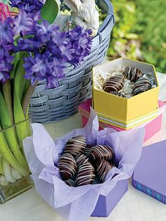 Chocolate-Peanut Butter Eggs