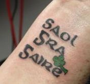 Live Love Laugh (gaelic)...this has the potential to be my first tattoo