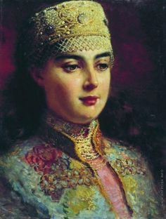 Маковский К. Е. Боярышня